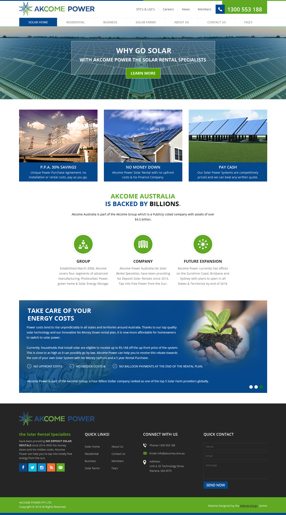 Website Design Portfolio Australia | Business Website Solutions